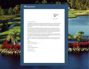 Mfgr  Nike Golf  Sally Fox